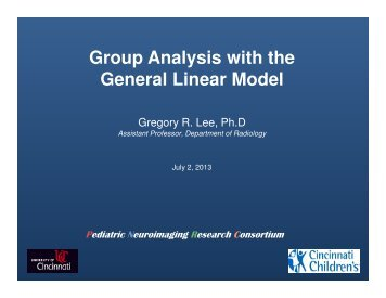 1 - Pediatric Neuroimaging Research Consortium