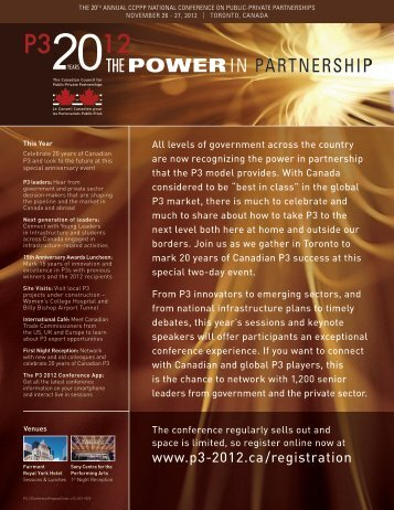 View the 2012 conference program - The Canadian Council for ...