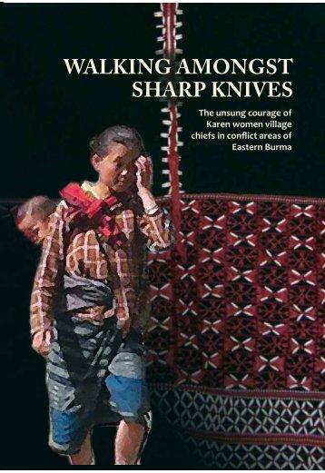 WALKING AMONGST SHARP KNIVES