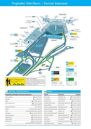 Flughafen Köln/Bonn - Konrad-Adenauer - Firmen-Handbuch