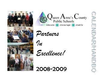 Calendar Handbook Table of Contents - Queen Anne's County ...