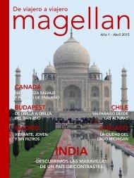 Revista de viajes Magellan - Abril 2015