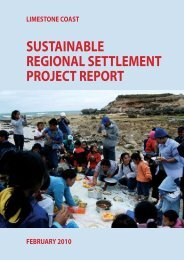 sustainable regional settlement project report - Refugee Council of ...