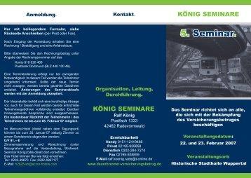 Seminar 2007