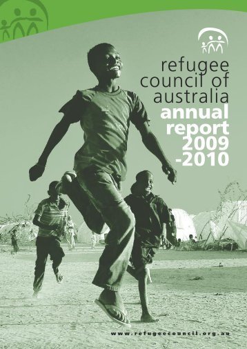 2009-10 Annual Report - Refugee Council of Australia