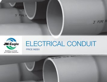 ELECTRICAL CONDUIT Price Index - JM Eagle