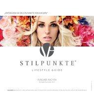 STILPUNKTE Lifestyle Guide Ausgabe Aachen Frühjahr/Sommer 2015