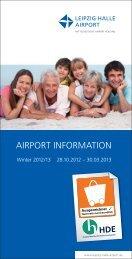 Airport Information Winter 2012/13 - Flughafen Leipzig/Halle