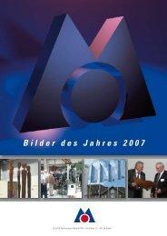 Bilder des Jahres 2007 - Fachverband Metall Nordrhein-Westfalen