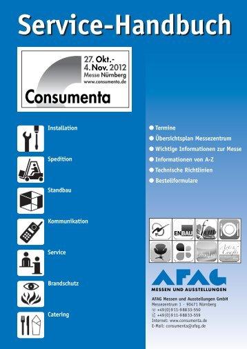 Technische Richtlinien - Consumenta