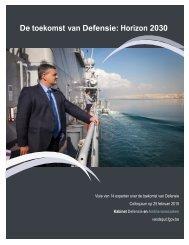 De toekomst van Defensie: Horizon 2030