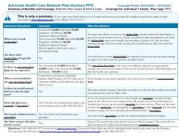 Blue Care Elect Saver PPO Integrated Benefit Description ...