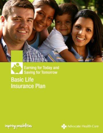 Basic Life Insurance Plan Summary - Advocate Benefits