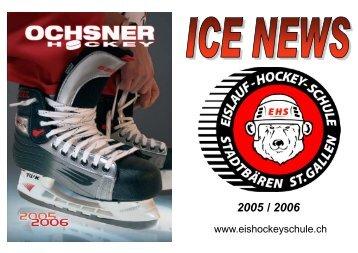 2005 / 2006 - Eislauf-Hockey-Schule Stadtbaeren St. Gallen