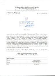 Bratislava - Telekomunikačný úrad SR
