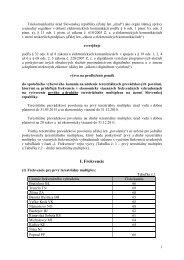 I. Frekvencie - Telekomunikačný úrad SR