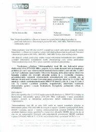 satro - Telekomunikačný úrad SR