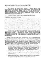 Vyjadrenie spoločnosti Slovak Telekom, a.s. k analýze
