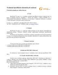 G-comp, s.r.o., Záhradná 7, prevádzka Hlavná 29, 056 01 Gelnica