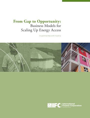 Business Models for Scaling Up Energy Access - Castalia