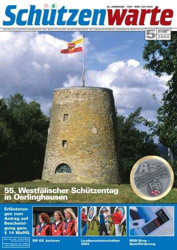 55. Westfälischer Schützentag in Oerlinghausen - Schützenwarte ...