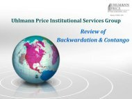 How to Evaluate the Impact of Contango - Uhlmann Price Securities