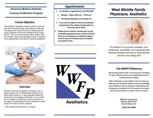 Aesthetics - West Wichita Family Physicians, PA