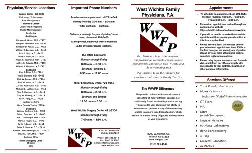 West Wichita Family Physicians P A