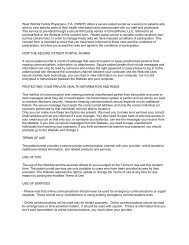 Patient Portal User Agreement Adult Facey Medical Group