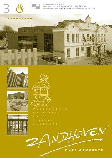 GB3 MEI-JUN 2006 - Gemeente Zandhoven