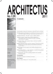 pobierz spis (download contents) - plik PDF - Architectus