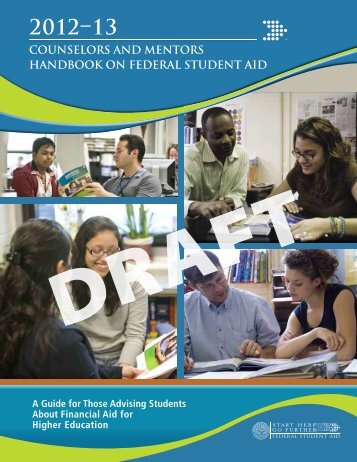 counselors and mentors handbook on federal student aid - ED Pubs