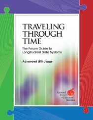 Traveling Through Time, The Form Guide to Longitudinal ... - ED Pubs