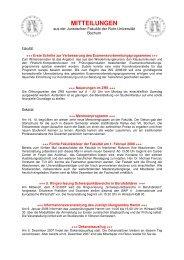 Ausgabe 4 (WiSe 2007/2008) - Juristische Fakultät - Ruhr ...