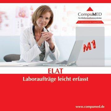 Laboraufträge leicht erfasst - CompWare Systemhaus GmbH