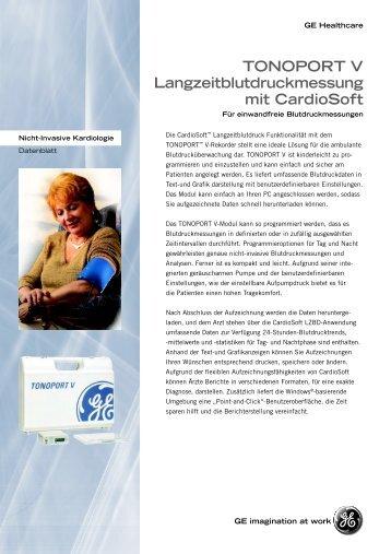 Prospekt Tonoport V - HKT-Medizintechnik