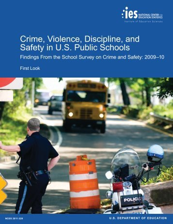 Crime, Violence, Discipline, and Safety in U.S. Public ... - ED Pubs