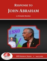 JOHN ABRAHAM - DeSmogBlog