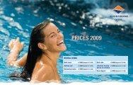 PRICES 2009 - Alpentherme Gastein