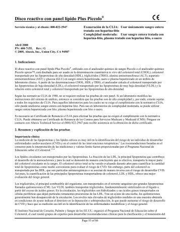 Piccolo® Lipid Panel Plus Reagent Disc - Abaxis
