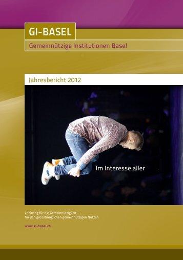 Jahresbericht 2012 - GI Basel