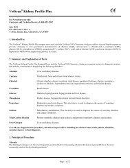 Kidney Profile Plus - Abaxis