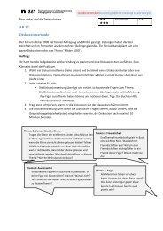 AB 17 Diskussionsrunde