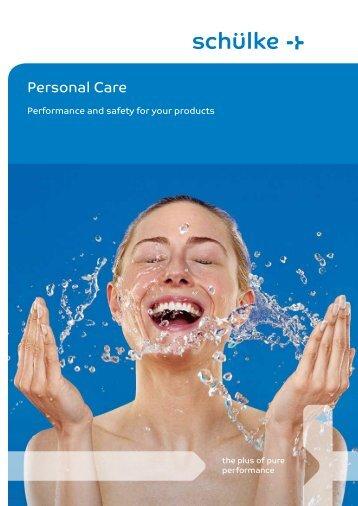 Personal Care Folder - Schülke & Mayr