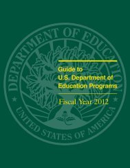 Guide to U.S. Department of Education Programs FY 2012 (PDF)