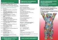 Call for Abstracts Allgemeine Informationen General ... - MCI