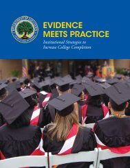EVIDENCE MEETS PRACTICE - ED Pubs