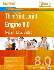 Modern. Easy. Better. - Thin Computing, Thin Print, Thin Client ...