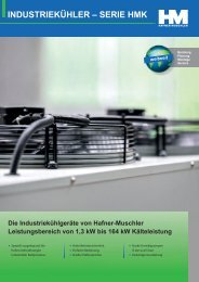 industriekühler – serie hmk - Sanshine Communications GmbH