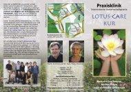 Flyer Lotus-Care-Kur (216 KB) - Arztpraxis und Praxisklinik Domnick